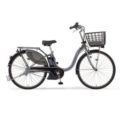 ヤマハ(YAMAHA) 電動アシスト自転車 PAS With SP PA26WSP グレーメタリック