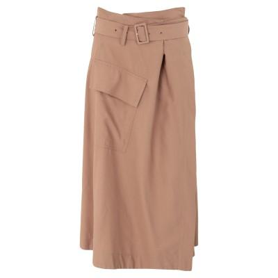 VINCE. 7分丈スカート サンド 2 レーヨン 90% / ナイロン 10% 7分丈スカート