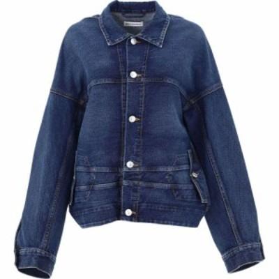 バレンシアガ Balenciaga レディース ジャケット Gジャン アウター Oversize Denim Jacket Blue