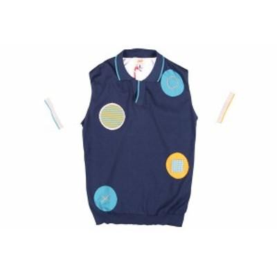 BOB(ボブ) 半袖ポロシャツ GINK ネイビー x ホワイト XL 24863nv 【S24864】