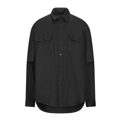 バレンシアガ BALENCIAGA シャツ ブラック 37 コットン 100% シャツ