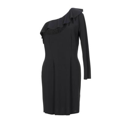 リュー ジョー LIU •JO ミニワンピース&ドレス ブラック 48 ポリエステル 95% / ポリウレタン 5% / レーヨン / アセテート