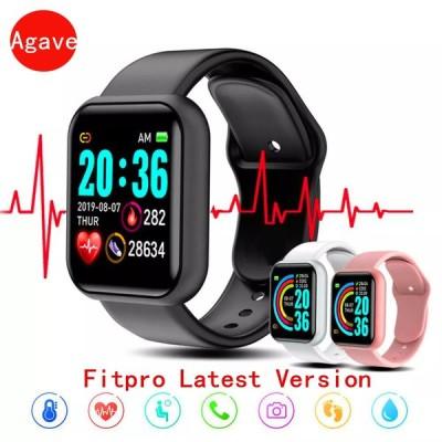 メンズ レディース  コネクテッドウォッチY68,Bluetooth,心拍数,血圧,身体活動モニター,AndroidiOS用