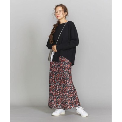 BEAUTY&YOUTH UNITED ARROWS / BY アートフラワープリントマキシスカート WOMEN スカート > スカート