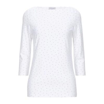 グラン サッソ GRAN SASSO T シャツ ホワイト 44 レーヨン 95% / ポリウレタン 5% T シャツ