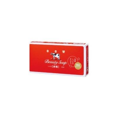 牛乳石鹸 カウブランド 赤箱 100GX 3P