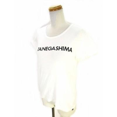 【中古】ハーレー Hurley Tシャツ カットソー 半袖 クルーネック ロゴ 白 ホワイト M レディース