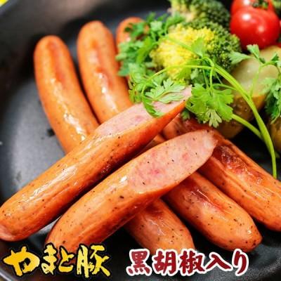 やまと豚 黒胡椒ソーセージ 140g   [冷蔵] ウインナー ウィンナー ウインナーソーセージ ソーセージ 肉 お肉 ギフト お取り寄せグルメ おつまみ 食べ物 内祝い
