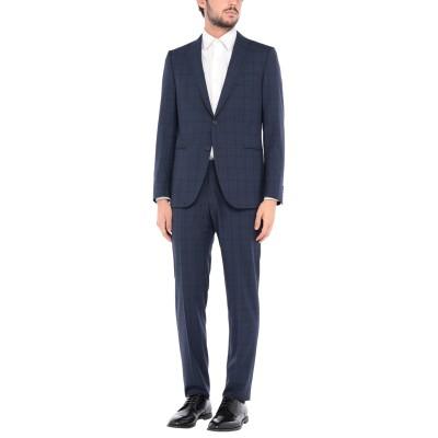 カルーゾ CARUSO スーツ ダークブルー 50 ウール 100% スーツ