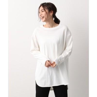 tシャツ Tシャツ オーガニックラウンドT長袖/892019
