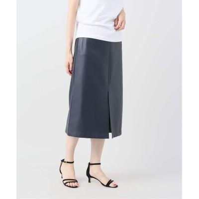 レディース ジョイントワークス JW レザータイトスカート ネイビー S