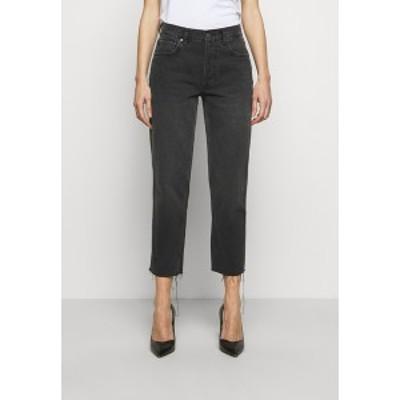 ボーイッシュ レディース デニムパンツ ボトムス TOMMY HIGH RISE - Straight leg jeans - space odyssey space odyssey