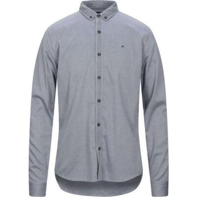 カルバンクライン CALVIN KLEIN JEANS メンズ シャツ トップス Patterned Shirt Grey