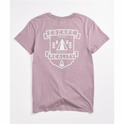 ドラバスガール DRAVUS GIRLS レディース Tシャツ トップス Dravus Joane Escape Lavender T-Shirt Light/pastel purple