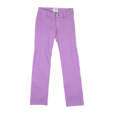9.2 BY CARLO CHIONNA パンツ ライトパープル 8 コットン 98% / ポリウレタン 2% パンツ