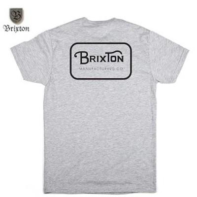 BRIXTON(ブリクストン)GRADE S/S STT グレーxブラック Lサイズ
