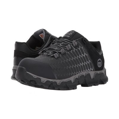 Timberland PRO ティンバーランド レディース 女性用 シューズ 靴 スニーカー 運動靴 Powertrain Sport Alloy Safety Toe EH - Black Raptek