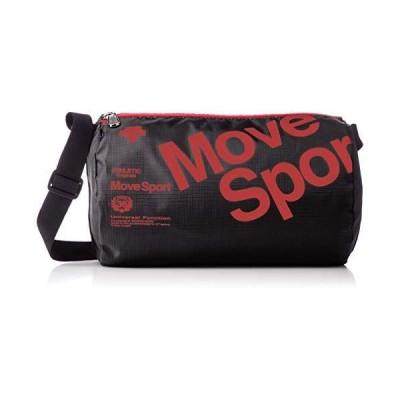 デサント ドラムバッグ 容量:約4L MOVESPORT スポーツ観戦に DMAPJA32 BKRD