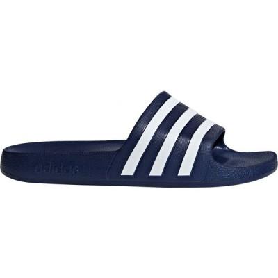 アディダス adidas メンズ サンダル シューズ・靴 adias Adilette Aqua Slides Navy/White