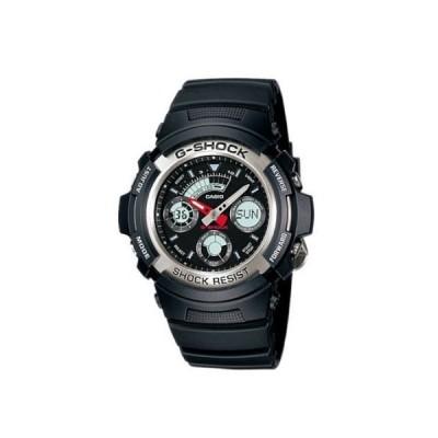 カシオ CASIO 腕時計 G-SHOCK Gショック アナログ デジタルコンビネーションモデル AW-590-1AJF 送料無料