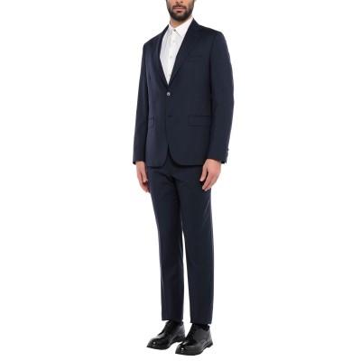 BRERAS Milano スーツ ブルー 54 バージンウール 100% スーツ
