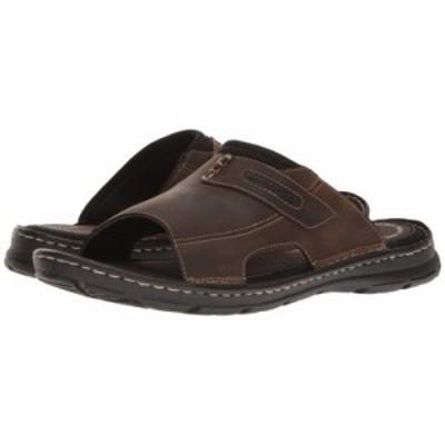 ロックポート サンダル Darwyn Slide 2 Brown II Leather