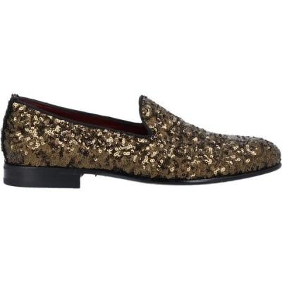 ドルチェ&ガッバーナ DOLCE & GABBANA メンズ ローファー シューズ・靴 loafers Bronze