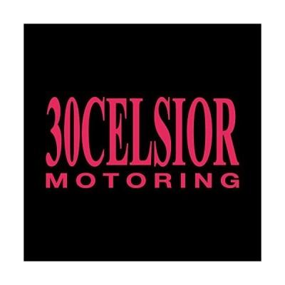 30CELSIOR 30セルシオ モータリング ステッカー ショッキングピンク 濃桃 vv0024-5p