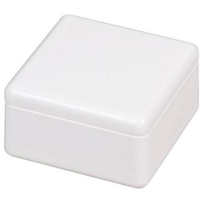 パール金属 おにぎらず Cube Box ホワイト 日本製 C-451