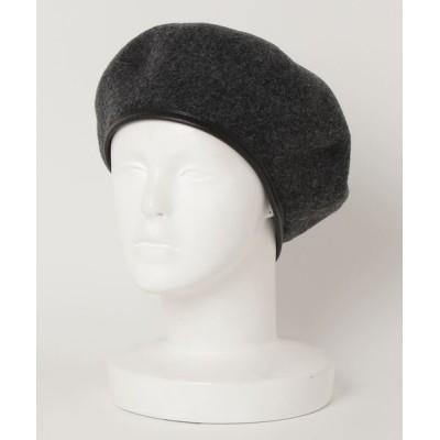 FREDY&GLOSTER / パイピングウールべレエ帽 WOMEN 帽子 > ハンチング/ベレー帽