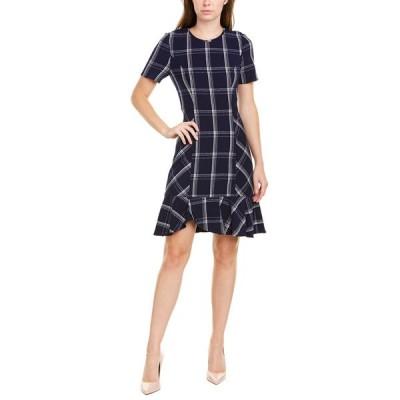ショシャーナ ワンピース トップス レディース Shoshanna Layton Mini Dress navy & optic