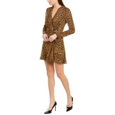 ジェイゴッドフライ レディース ワンピース トップス Jay Godfrey A-Line Dress leopard print tan multi