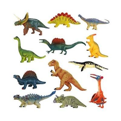 Dinosaur Toys BicycleStore 12 Pack Mini Dinosaur Realistic Toys Educational