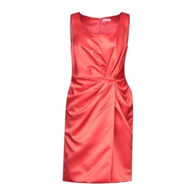 ANUG ミニワンピース&ドレス レッド 44 ポリエステル 100% ミニワンピース&ドレス