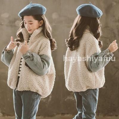 コートキッズ女の子おしゃれ子供服冬アウター厚手ボアコートショートコート中綿コートジャケットキッズコート子供コート暖かい防寒可愛い新品