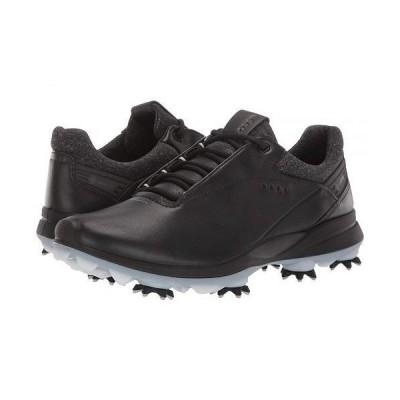 ECCO Golf エコー ゴルフ レディース 女性用 シューズ 靴 スニーカー 運動靴 BIOM G 3 - Black