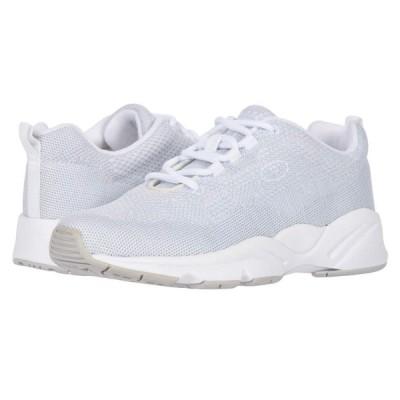 プロペット Propet レディース スニーカー シューズ・靴 Stability Fly White/Silver