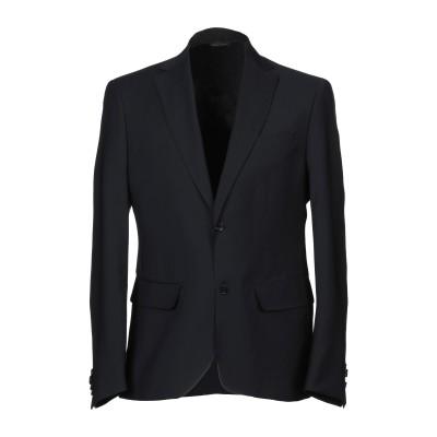 MASSIVE テーラードジャケット ダークブルー 52 バージンウール 100% テーラードジャケット