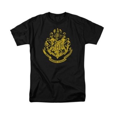 Tシャツ ハリーポッター Harry Potter Hogwarts Crest Licensed Adult T Shirt
