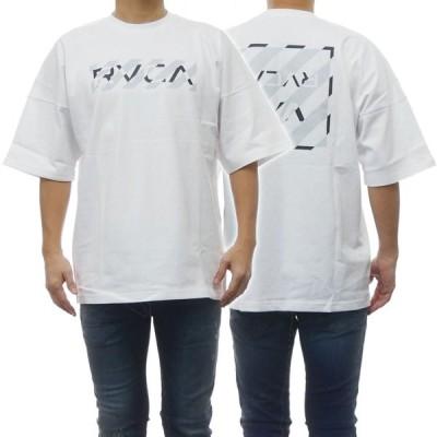 RVCA ルーカ メンズクルーネックTシャツ HAZARD RVCA SS / BA041-223 ホワイト