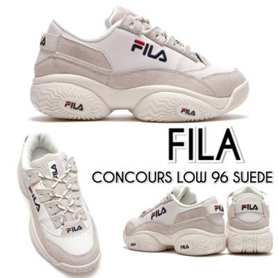FILA フィラ CONCOURS LOW 96 SUEDE スニーカー メンズ レディース FLFL9F3X03