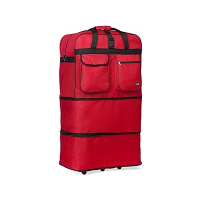 Rolling Wheeled Duffle/duffel Bag/spinner Suitcase Luggage Expandable (30 i