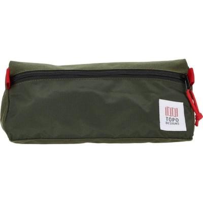 トポ デザイン Topo Designs レディース ポーチ Travel Toiletry Kit Olive/Olive
