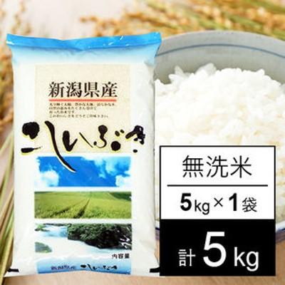【5kg】 越後の米 令和3年産 新潟県産 こしいぶき 無洗米 5kgx1袋