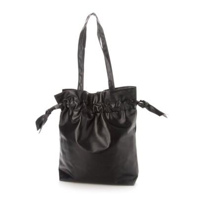 スタイルブロック STYLEBLOCK 巾着型ショルダーバッグ (ブラック)
