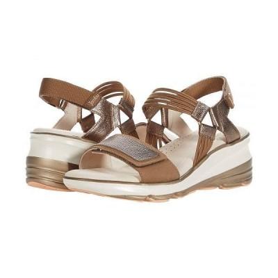 Jambu ジャンブ レディース 女性用 シューズ 靴 ヒール St Tropez - Bronze Tan