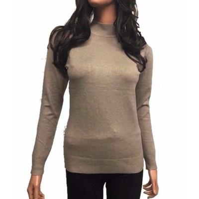 セーター レディース シー CAMEL Women Turtleneck Long Sleeve Knit Top Sweater (S XL)