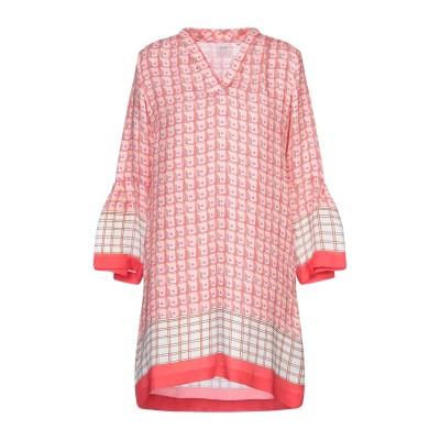CALIBAN RUE DE MATHIEU EDITION ミニワンピース&ドレス ピンク 44 シルク 100% ミニワンピース&ドレス