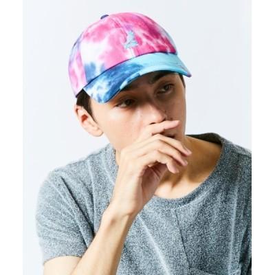 OVERRIDE / 【KANGOL】Tie Dye Baseball/ MEN 帽子 > キャップ
