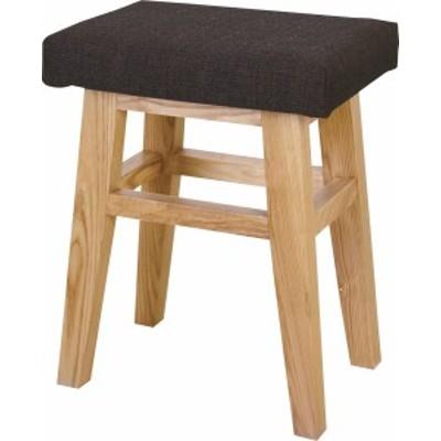 バンビスツール イス バーチェア 椅子 カウンターチェア (数量1) ブラウン 茶  送料無料